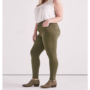 NWT Lucky Brand Emma Jegging in Opal